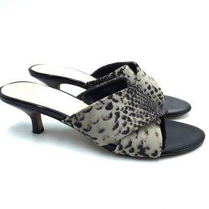 Donald Pliner Vayane Snake Skin Pattern Sandals
